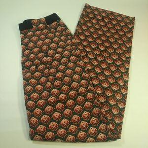 Silence + Noise Women's Size 6 Flower Print Pants
